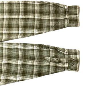 David Taylor Shirts - David Taylor Plaid Flannel Button Down Shirt XLT